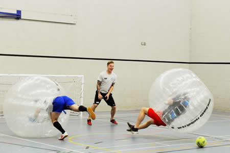 Bubble Football Team Event